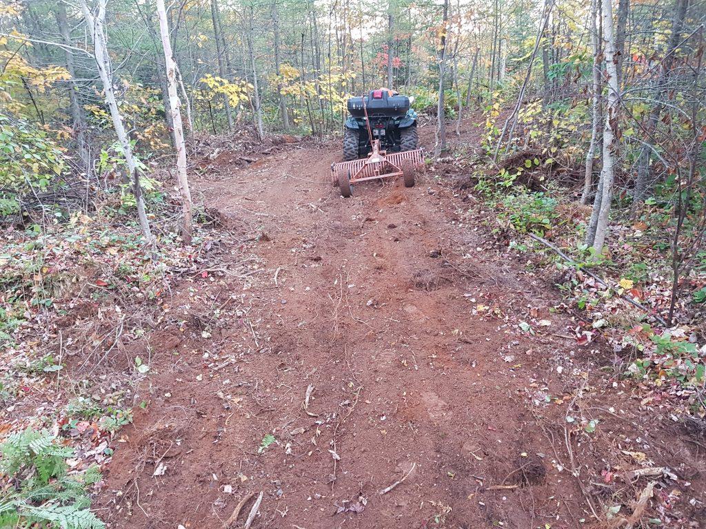 Route 504 Quad with rake